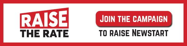 raise the rate campaign banner
